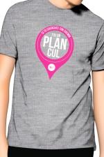 T-Shirt J&M J'ai un Plan cul - gris : T-shirt J'ai un plan cul pour ne plus laisser aucune âme en peine. Un t-shirt de la collection officielle Jacquie & Michel.
