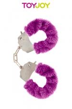 Menottes Fourrure Furry Fun : Menottes en métal recouvertes d'une fourrure colorée. Plusieurs couleurs Disponibles.