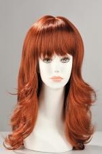 Perruque Fiona : Perruque longue dégradée avec une frange effilée, pour être sexy et féminine.